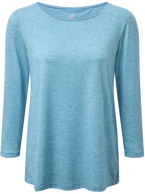 Sherpa Asha - Camiseta manga corta Mujer - azul